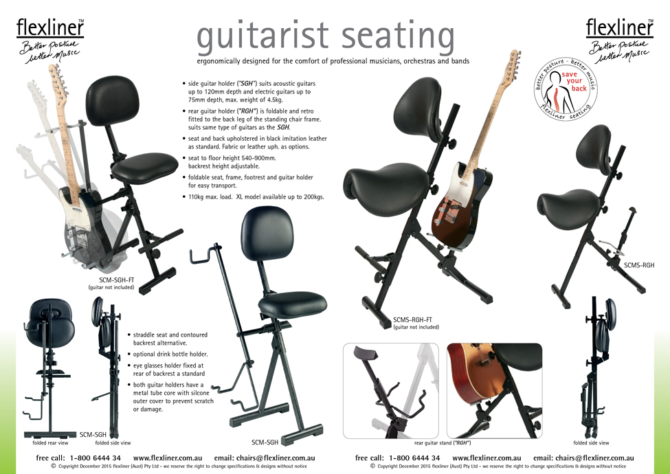 Guitarist Seating